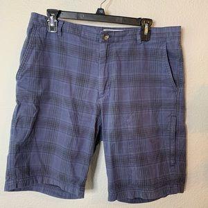 Men's Calvin Klein Plaid Bermuda Shorts